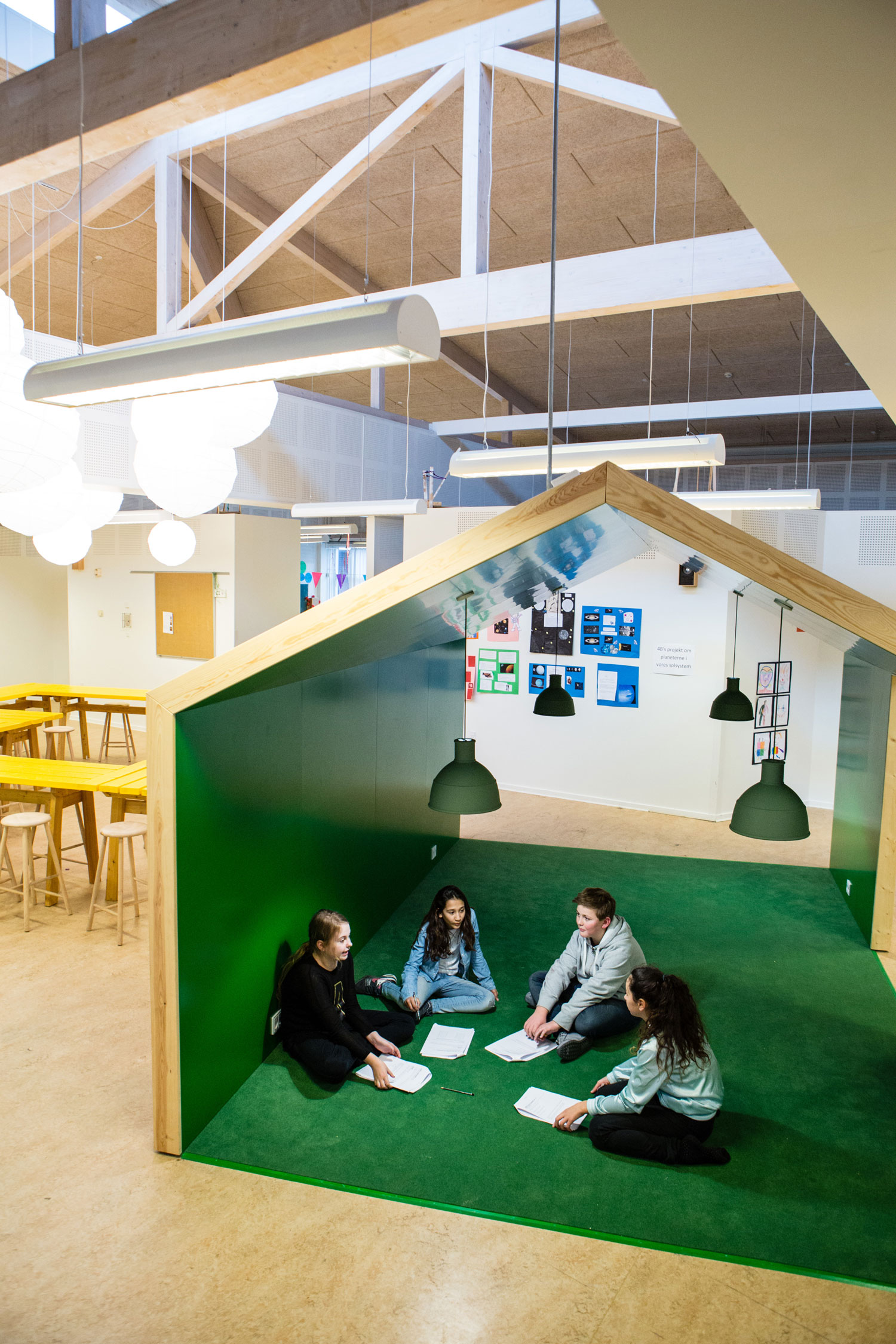 engstrandskolen grønt område Rune Fjord Studio