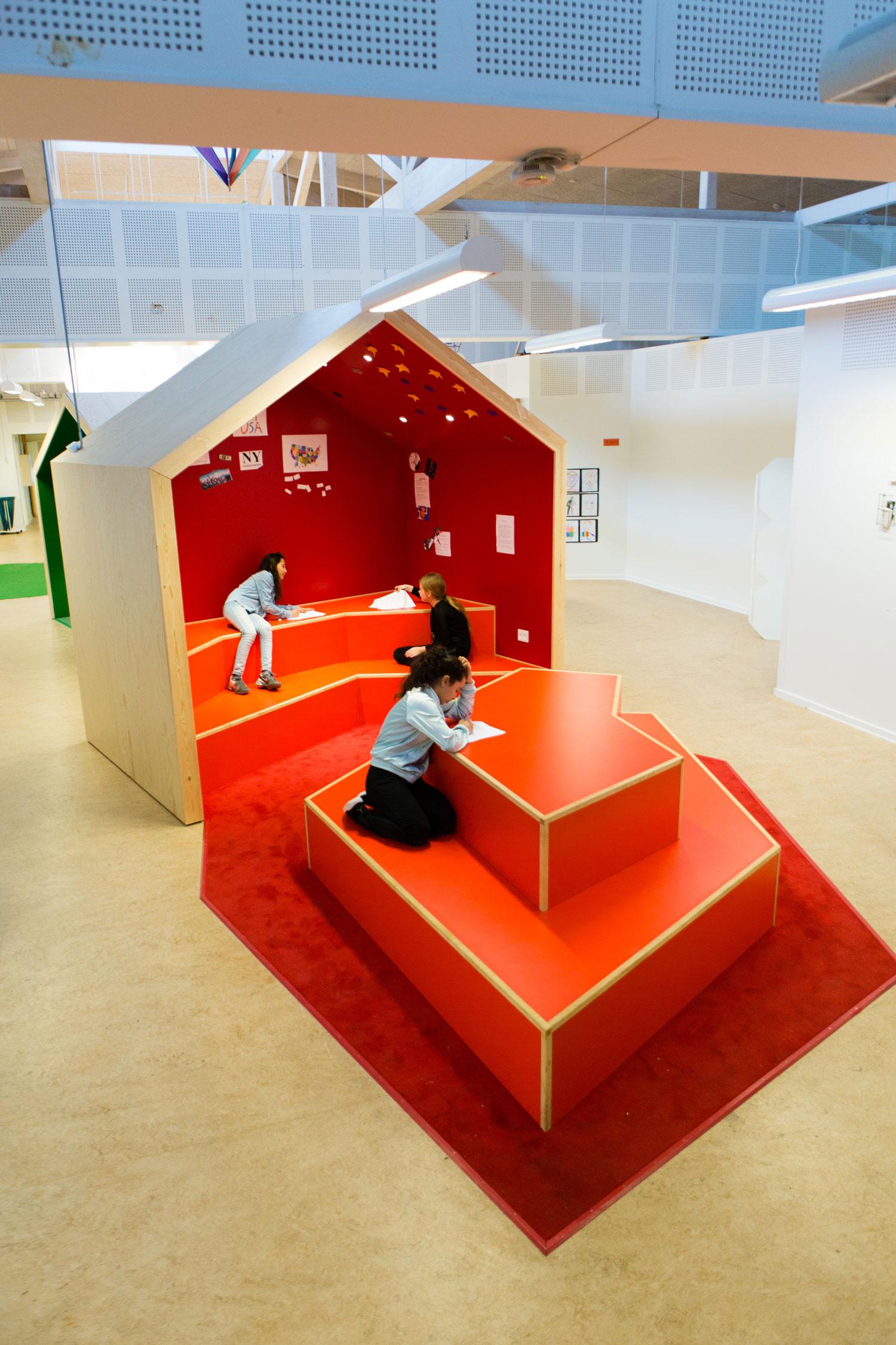 engstrandskolen rødt område overblik Rune Fjord Studio
