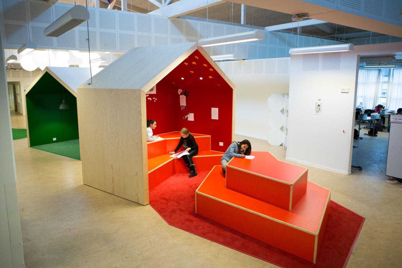 engstrandskolen legeområde overblik Rune Fjord Studio