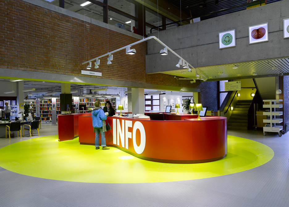 gladsaxe hovedbibliotek rune fjord studio