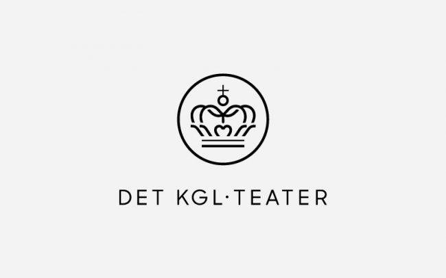 Det kongelige teater Logo Rune Fjord Studio