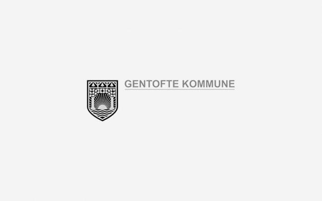 Gentofte Kommune Logo Rune Fjord Studio