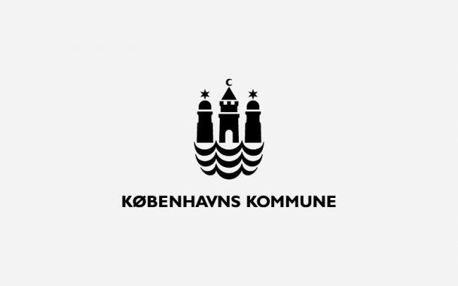 Københavns Kommune Logo Rune Fjord Studio