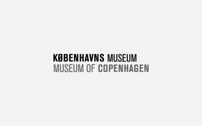 Københavns museum Logo Rune Fjord Studio