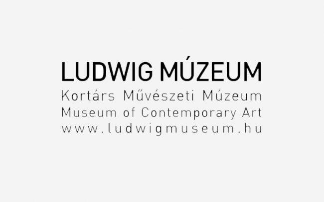 Ludwig Muzeum Logo Rune Fjord Studio