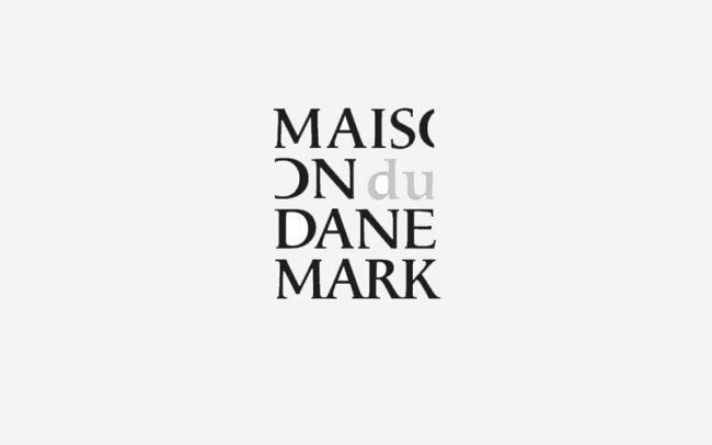 Maison du danemark Danmarkshuset Logo Rune Fjord Studio