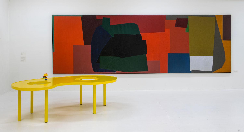 Idealer esbjerg kunstmuseum vægkunst bord Rune Fjord Studio